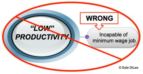 Low productivity assumptions