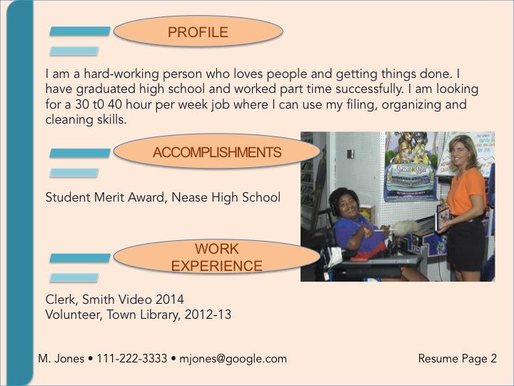 visual resume template soft  u2013 trn online disability training