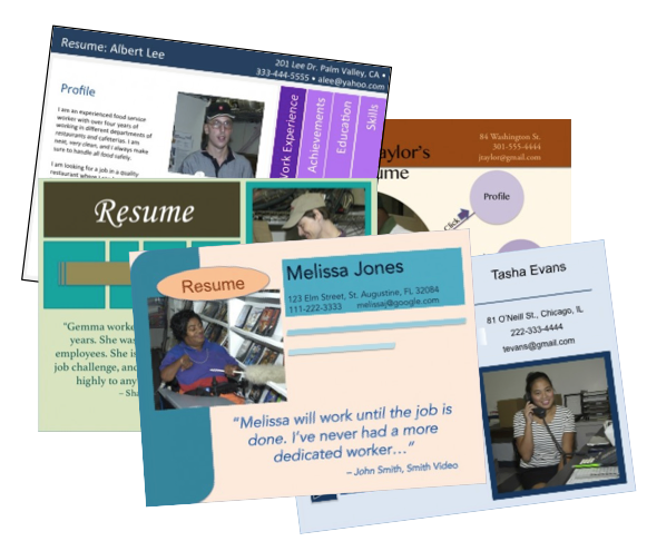 visual resume collection  u2013 trn online disability training