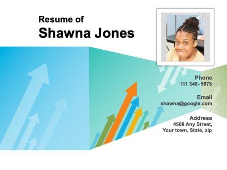 Visual Resume Business 1