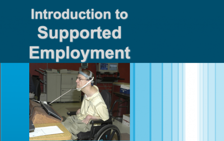 Introduction to Supported Employment
